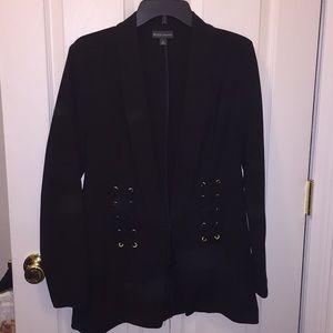Jackets & Blazers - Black blazer with stitching detail NWOT